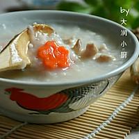 快手鸡丝香菇粥#急速早餐#的做法图解10