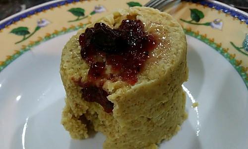 麦片水果糕之微波炉版的做法