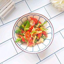 #快手又营养,我家的冬日必备菜品#简单快手彩椒炒鸡肉