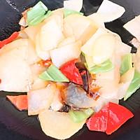 尖椒炒土豆片的做法图解4