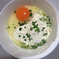葱花鸡蛋饼#急速早餐#的做法图解2