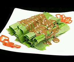 爽口瘦身麻酱油麦菜的做法