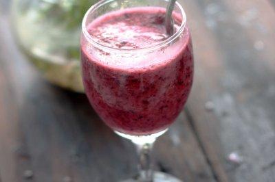 夏日里的一口酸爽——蓝莓鸡尾酒冰爽