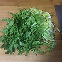 苦苣花生米的做法图解2