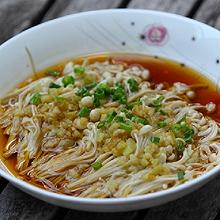 蒜蓉蒸金针菇