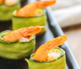 #美食视频挑战赛# 牛油果鲜虾卷的做法