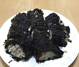 紫菜包肉的做法