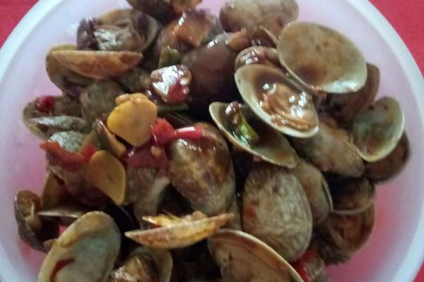 【虾兵蟹将河海鲜】香辣花甲的做法_【图解】【虾兵蟹