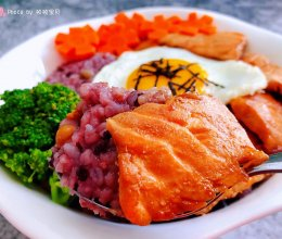 #元宵节美食大赏#三文鱼盖饭的做法