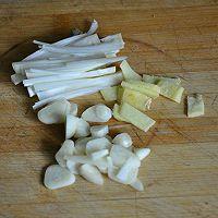 黄豆芽炒粉条的做法图解5