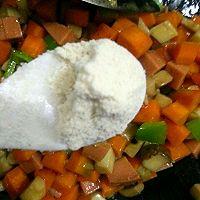 家常小炒素三样~胡萝卜、杏鲍菇、青椒的做法图解7