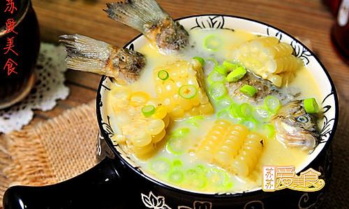 秋季滋补鲜美鱼汤炖起来【鲫鱼玉米汤】——熬出奶白鲫鱼汤的秘方的做法