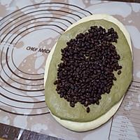 百吃不厌、高颜值的抹茶蜜豆吐司的做法图解13