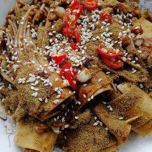 少油健康版烤金针菇