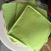 8寸生日蛋糕(方形)的做法图解3