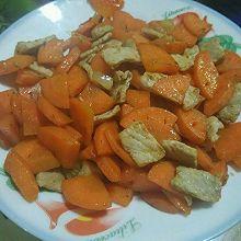 胡萝卜小炒(当胡萝卜遇上里脊)