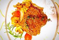 黑胡椒蘑菇百里香烤牛排的做法