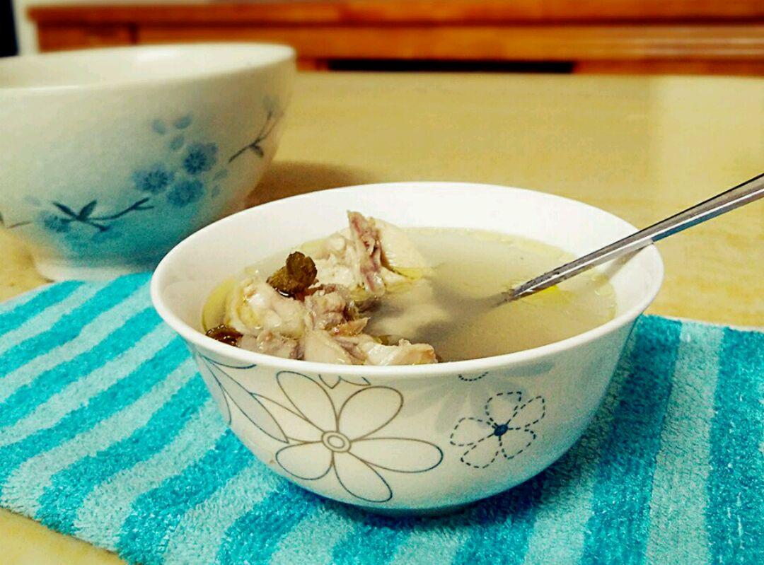鸡胸花旗参炖做法的美食_菜谱_豆果天狗50石斛狗可以吃鸡汤肉了吗图片