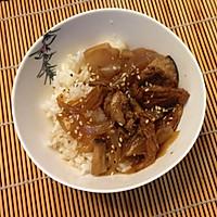 日式牛肉饭