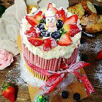 草莓双层蛋糕#美的FUN烤箱.焙有FUN儿#