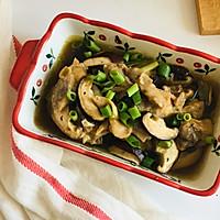 高蛋白低脂肪——香菇原汁鸡的做法图解6