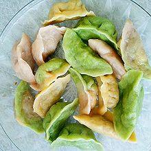 家常彩色水饺
