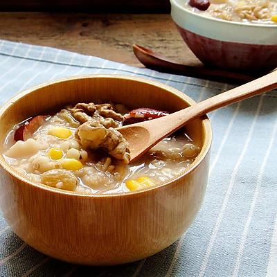 核桃仁燕麦粥