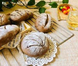 #憋在家里吃什么#麻薯夹心软欧包的做法
