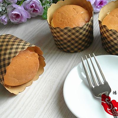 海绵杯子蛋糕