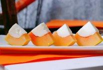 #换着花样吃早餐#花式零食清凉又解馋的木瓜牛奶冻的做法