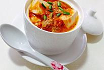 茄汁牛肉丸豆腐汤的做法