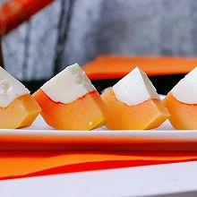 #换着花样吃早餐#花式零食清凉又解馋的木瓜牛奶冻