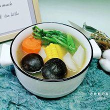 营养健康的五行蔬菜汤