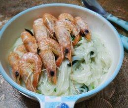 快手餐 | 鲜虾菠菜宝宝面
