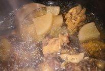 牛尾萝卜汤的做法