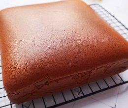 巧克力可可古早蛋糕的做法