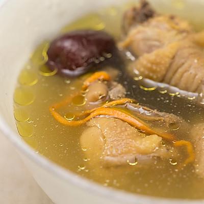 石锅炖鸡汤|美食台