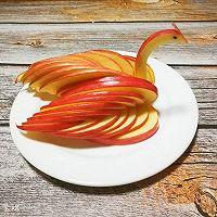 天鹅苹果、花式苹果(2种花式切苹果方法)