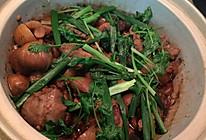 粟子焖猪蹄的做法