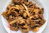 新疆口味的炒烤肉的做法