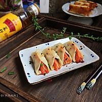 鲜虾韭菜肉锅贴#金龙鱼外婆乡小榨菜籽油 外婆的食光机#
