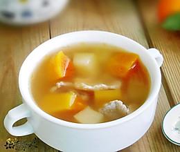 清爽香甜、润泽肌肤--青红木瓜肉片汤的做法