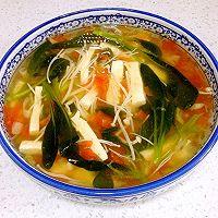 清爽开胃豆腐汤的做法图解5