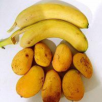 芒果牛奶煎餅的做法图解1