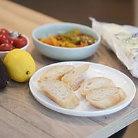 创意早餐|开放式三明治,随心所欲 #花10分钟,做一道菜#的做法图解1