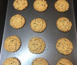 老少咸宜的全麦桃酥粗粮饼干的做法