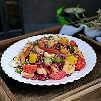 #520,美食撩动TA的心!#藜麦时蔬鸡胸沙拉的做法图解11