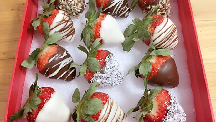 草莓和巧克力的相遇