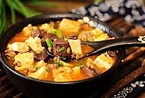 补血养颜--鸭血烩豆腐的做法