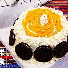母亲节蛋糕#豆果6周年生日快乐#